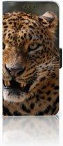 Huawei Nova 4 Uniek Boekhoesje Luipaard