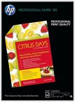 HP Brochure en Flyer Papier - Glossy / A4 180g/M2 / 50 vellen
