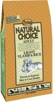 Nutro Choice Dog Adult Light - Lam & Rijst - Hondenvoer - 10 kg