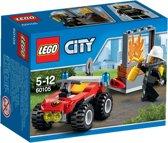 LEGO City Brandweer Terreinwagen - 60105