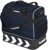 Hummel Pro Bag Supreme Sporttas - navy blue/zwart - 50 x 48 x 32 cm