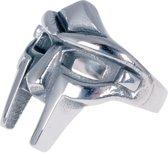 Herenring edelstaal Gladiator Mask-20mm