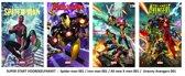 Marvel Strip Voordeelpakket !  4X nr 1  spider-man , iron man , all new x men , Uncanny avengers