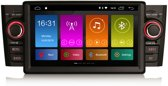 Fiat Punto 2005 – 2009 Navigatiesysteem met Bluetooth Autoradio Aux en USB – Android 7.1 – Fiat Linea 2007 - 2011 – Met Camera & USB