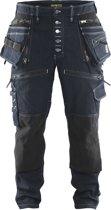 Blaklader Blåkläder 1999 Baggy Denim Stretch X1900 Marineblauw/Zwart C54