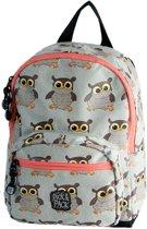 Pick & Pack Owl Rugzak - Grey Multi