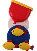 Ambi Toys Badspeelgoed Fish Wheel 21 Cm Rood