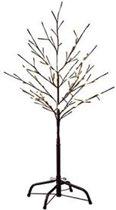 Konstsmide Lichttak Kerstverlichting - 100 cm - Bruin cherry - LED 96 lampjes - Warm wit