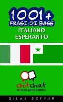 1001+ Frasi Di Base Italiano - Esperanto