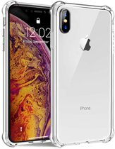 sparant Shock proof Hoesje Apple iPhone X / Xs / 10  Siliconen TPU Case - met verstevigde randen