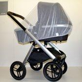 Kinderwagen Klamboe - Buggy Muggennet - Muskieten net voor Maxi Cosi - Mosquitonet Standaard voor algemeen gebruik - Wit