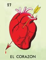 Loteria Heart and Skull Journal