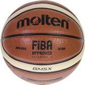 Molten Basketbal GM-X (size 6) - oranje/wit/zwart