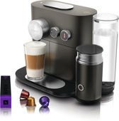 Nespresso Magimix Expert & Milk M500 - Koffiecupmachine - Antraciet