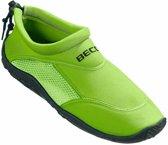Groene waterschoenen/ surfschoenen volwassenen 37