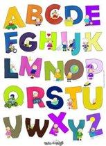 Rube & Rutje Alfabet Poster