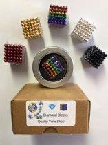 Neocube Magneetballetjes Zes Kleuren - Geschenkverpakking