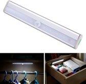LED Kastverlichting Sensorlamp - Draadloos - Met Automatische sensor - 19cm - Bewegingssensor - Cabinet Lights - Motion Sensor - Werkt op Batterijen - Indoor Motion