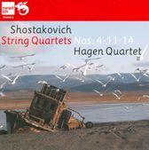 String Quartets No. 4, 11 & 14
