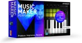 Magix Music Maker Performer - Inclusief Luxe Keyboard - Nederlands / Engels / Frans - Windows