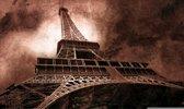Paris Eiffel Tower Brown Photo Wallcovering