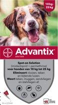 Advantix 250/1250 Vlooien/Teken - 6 Pipetten