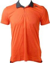 Adidas Refresh Polo Tee AB6337, Mannen, Oranje, T-shirt maat: XL EU