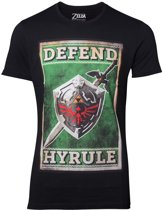 Zelda - Propaganda Sword & Shield Men's T-shirt - XL