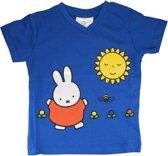 Nijntje T-shirt voor Kinderen met Zonnetje Blauw Maat 62-68 – 33x33x1cm | Shirtjes voor Jongens en Meisjes | Pampers Kleding