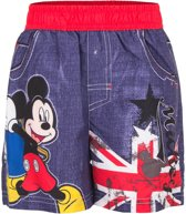 Mickey mouse zwembroek 128cm rood