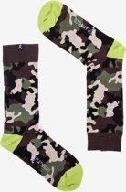 Replay sokken in camouflage stijl met contrasterende hiel en teen - maat 39 tot 42