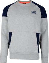 CANTERBURY CREW SWEAT - M - GREY