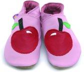 Starchild babyslofjes apple in baby pink Maat: S (11 cm)