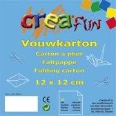 Creafun Vouwkarton 12x12 Cm 50 Stuks