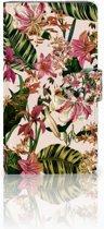 Sony Xperia L1 Boekhoesje Flowers