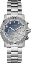 Guess Watches - W0774L6 - Horloge - Dames - Staal - Zilverkleurig -  ⌀ 38 mm