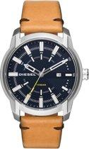 Horlogeband Diesel DZ1847 Leder Cognac 22mm