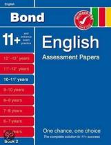 Bond English Assessment Papers 10-11+ Years Book 2