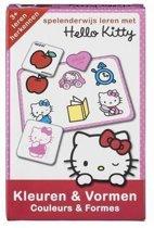 Hello Kitty Kleuren en Vormen Leren voor Kinderen vanaf 3 Jaar – 20x13x3cm | Educatief Spel voor Kinderen | Denkspellen
