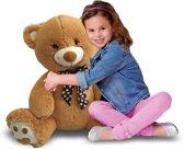 Afbeelding van Iplush - Opblaasbare Bruine Teddybeer - 80 cm - Plushe speelgoed