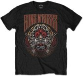 Guns N' Roses - Australia heren unisex T-shirt zwart - XL