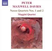 Maxwell Davies:Naxos Quartets1