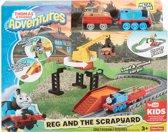 Thomas de Trein Adventures Reg en de Sloop - Treinbaan