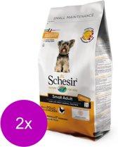 Schesir Small Adult Chicken - Hond - Droogvoer - 2 x 2 kg