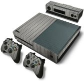 Wood Grey - Xbox One Console Skins Stickers