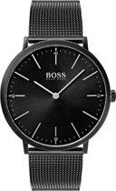 Hugo Boss  HB1513542 Horizon Horloge - Staal - Zwart -  Ø40 mm