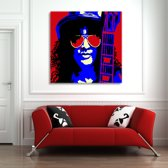 Slash Canvas Art 80/80cm