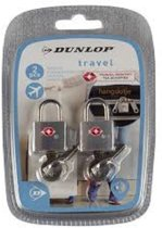2 x TSA Reisslotjes met Sleutel - Kofferslot / Bagageslot - Hangslot Met 2 sleutels - Sleutelslot