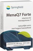 Springfield MenaQ7 Forte - 60 Capsules - Voedingssupplement