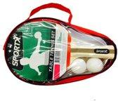Sportx Tafeltennis 2Bats/2Bal Luxe